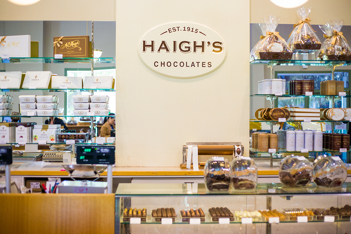 Haighs Chocolate Factory, Adelaide