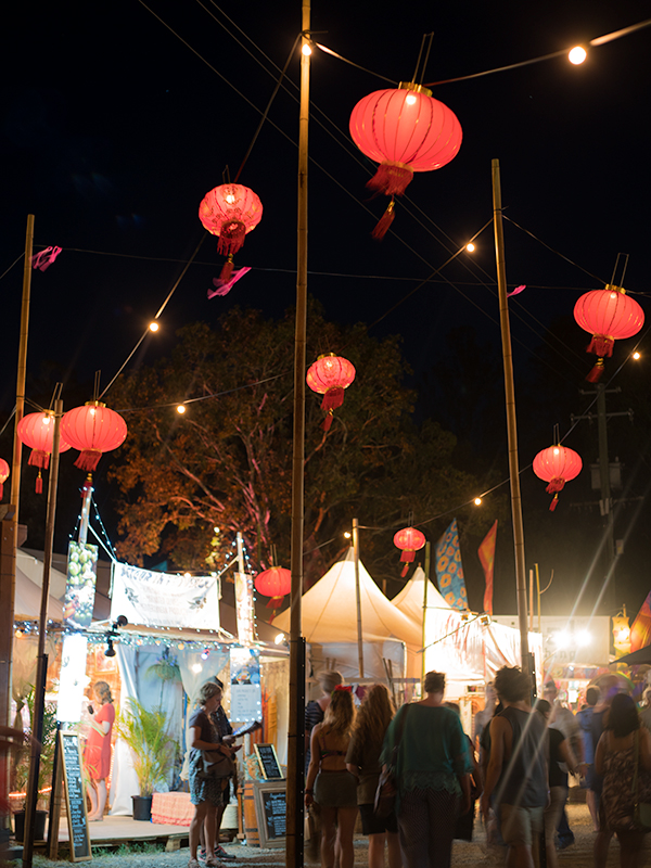 Lanterns lighting up property all over Woodford
