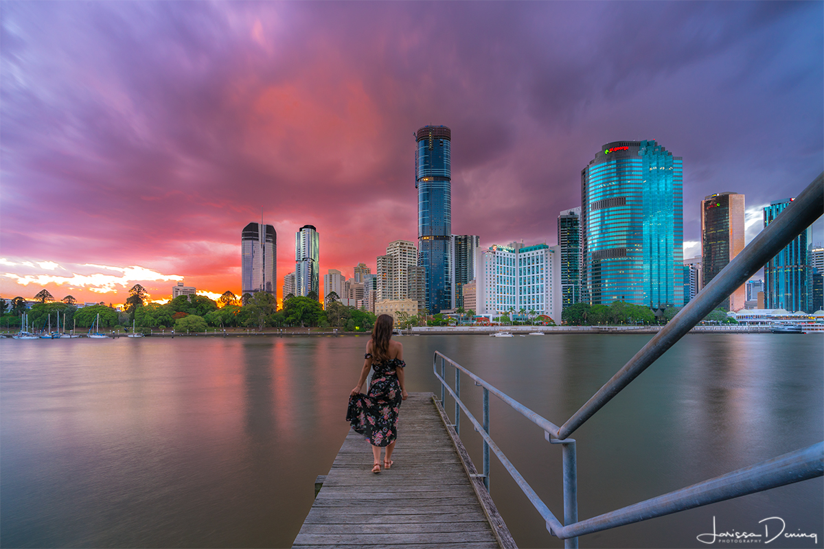 Sunsets back in my home town, Brisbane