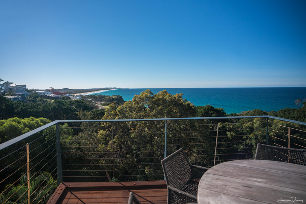 View from the deck at The Point Coolum. 9 Best experiences on the Sunshine Coast